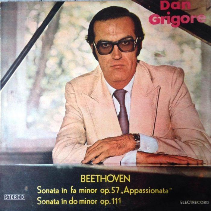 """Beethoven* - Dan Grigore – Sonata In Fa Minor Op. 57 """"Appassionata"""" -"""