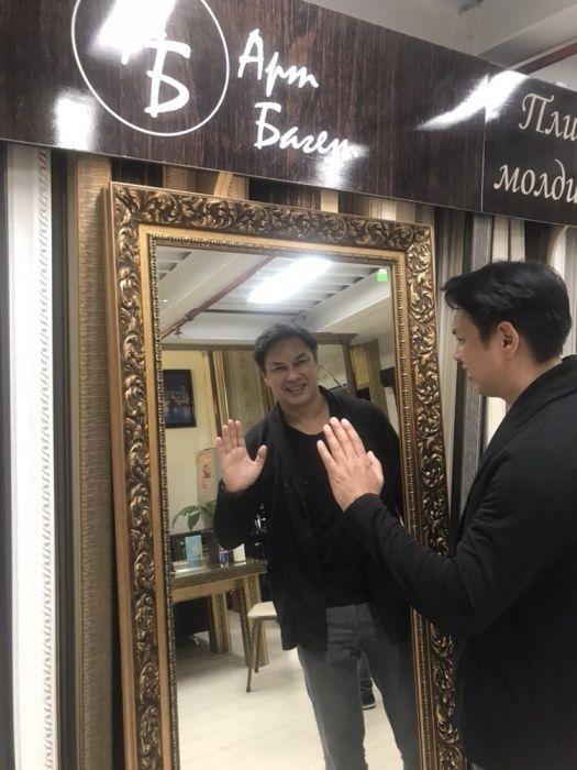Айна. Зеркало. Зеркала на заказ (фацет) багеты. Молдинг. Багет