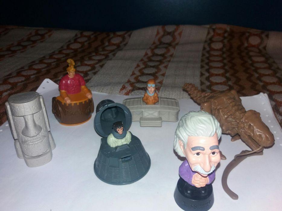 Lot 6 figurine din filmul O noapte la muzeu