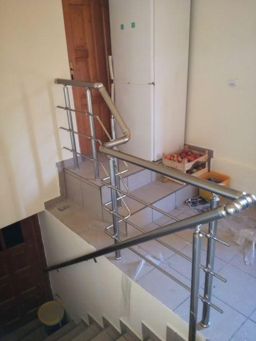 Balustrada aluminiu