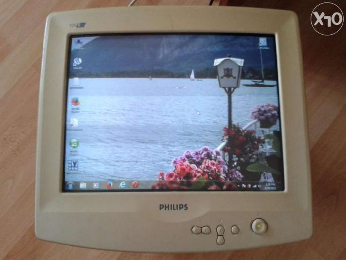 "Monitor CRT PHILIPS 15"" model 105S digital nefolosit"