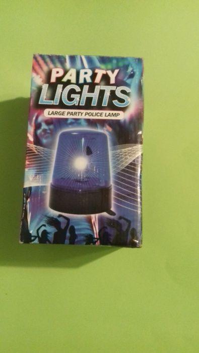 Lampa pentru party Police Lamp