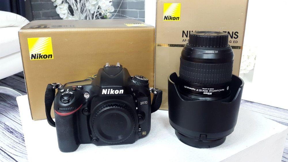 Продам фотоаппарат Nikon D610 + Nikon AF-S 24-70 mm f/2.8G ED