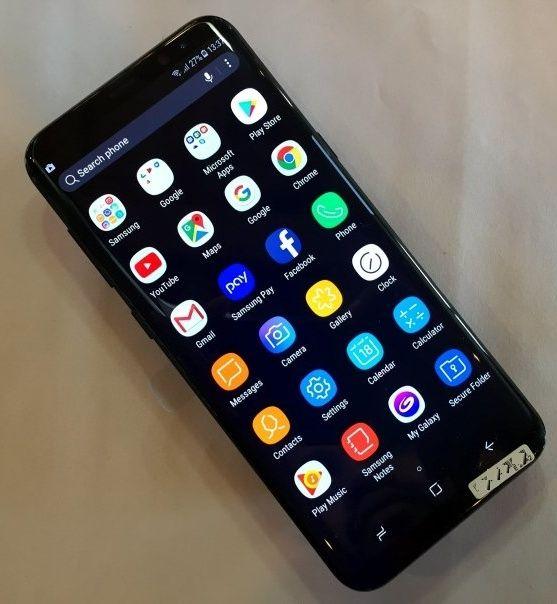 Samsung S8 *novo sem caixa*