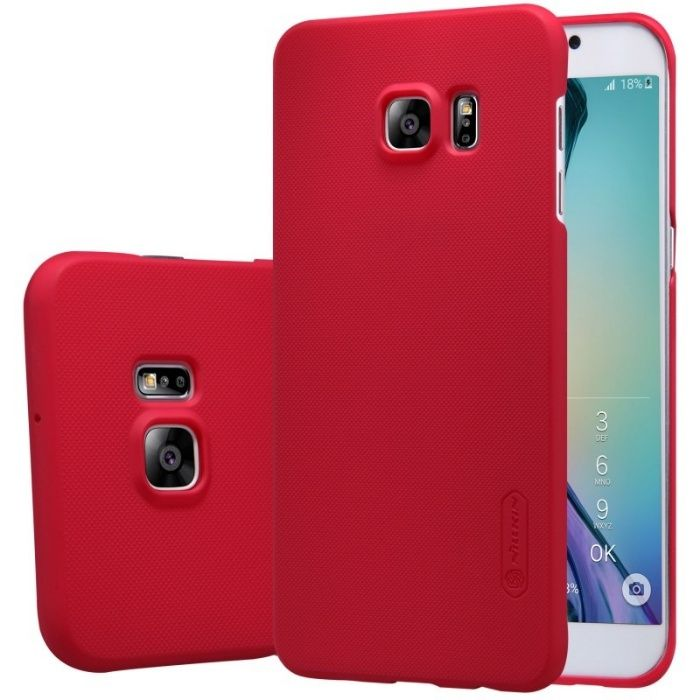 Husa Elegance Luxury X-LEVEL Metalic Red pentru Samsung Galaxy S7 Edge