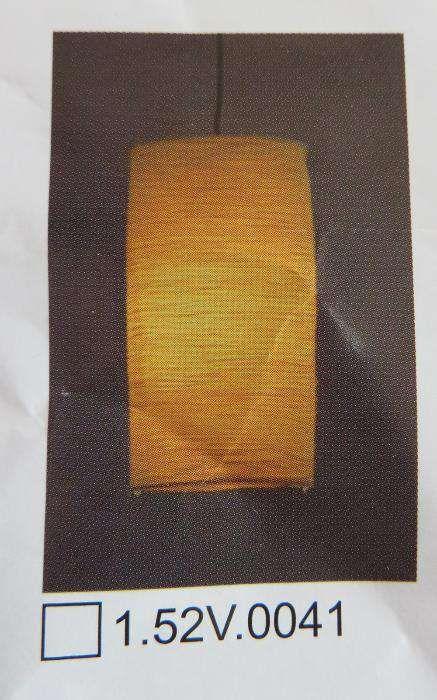 Pendul cu Abajur din Hartie / Colorat - 18cm x 35cm + fir