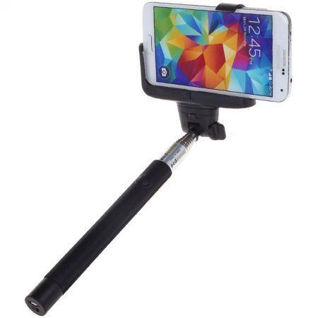 Selfie Stick Serioux SRXA-Z07-5BLT, extensibil, Bluetooth, Negru