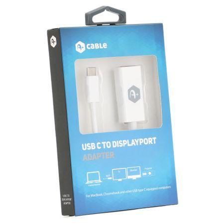 Adaptor A+ de la USB tip C la Displayport nou la cutie