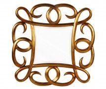 Oglinda Decorativa Bali Gold 80x80cm