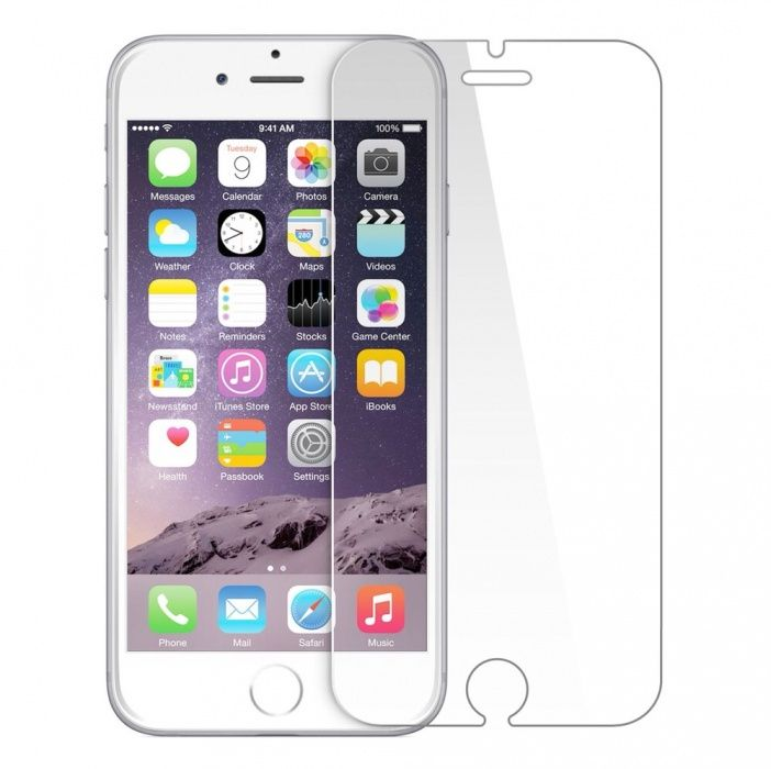 Folie sticla iPhone 6 7 8 Plus X Tempered Glass aplicare gratuita