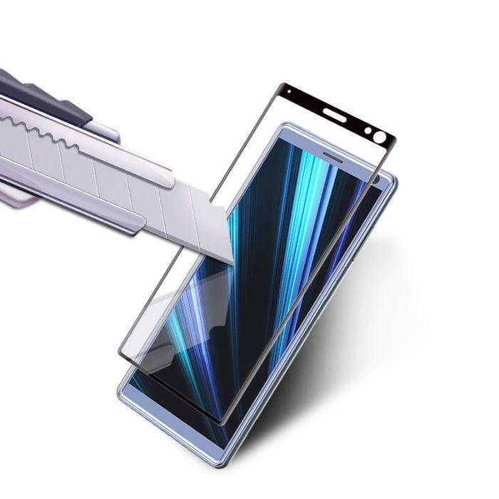 Закален извит удароустойчив 6D стъклен протектор за Sony Xperia 10 гр. Шумен - image 4