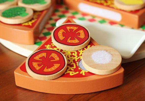 Wood Pizza с лепки за деца всички дървени играчки на хубави цени гр. Бургас - image 7