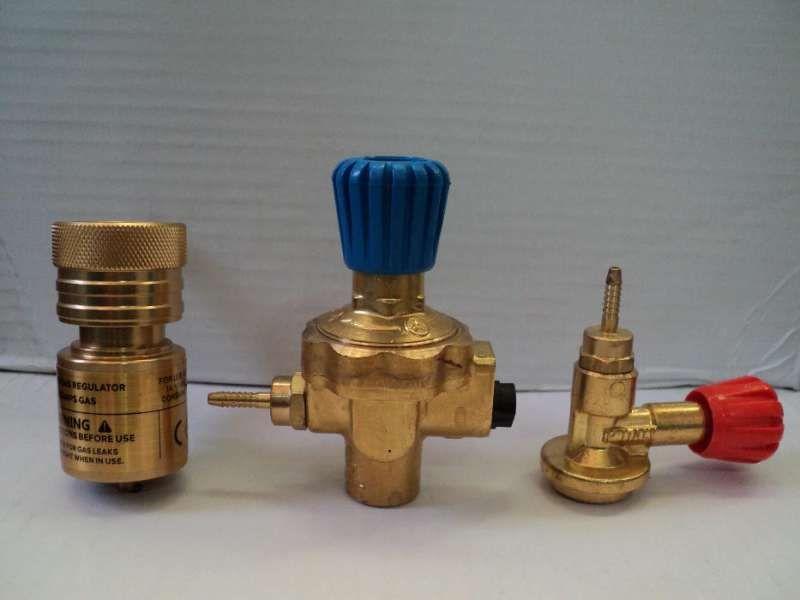 Кран регулатор,регулатори за мап газови флакони с гърловина 25мм.