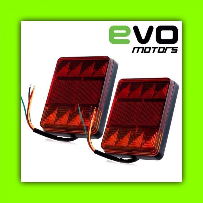 Set Stopuri Led Remorca Tir Stop Tripla Platforma Lampa Rulota A022