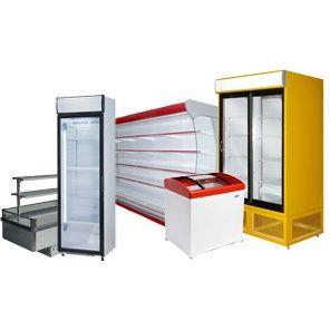 Холодильное оборудование: Витрины, Шкафы, Лари, Кондитерские