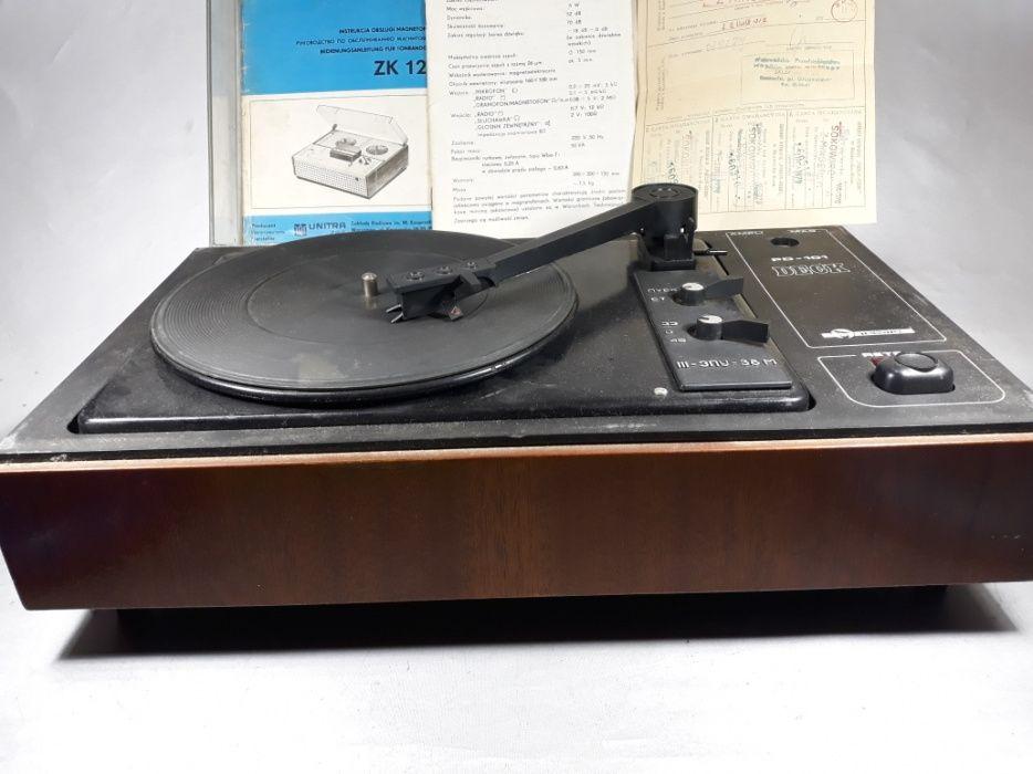 Pickup DJ Deck Tehnoton din 1978 colecție original macheta