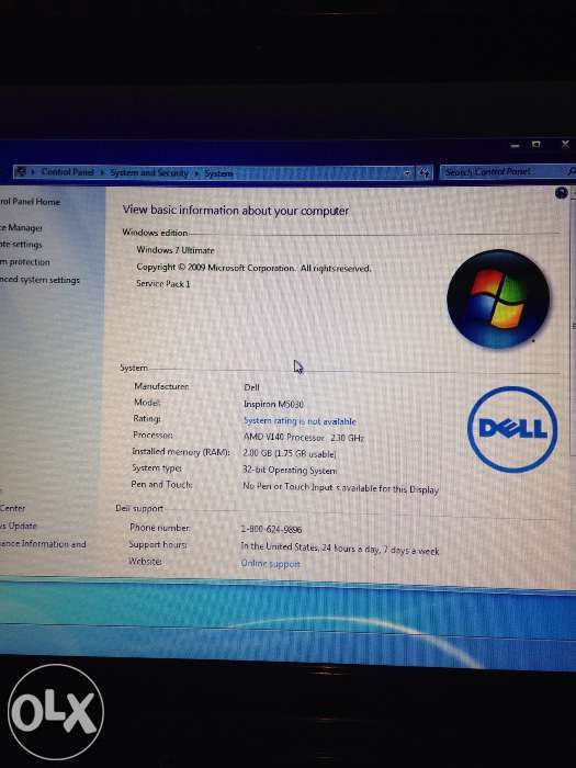 Vand Dell Inspiron M5030
