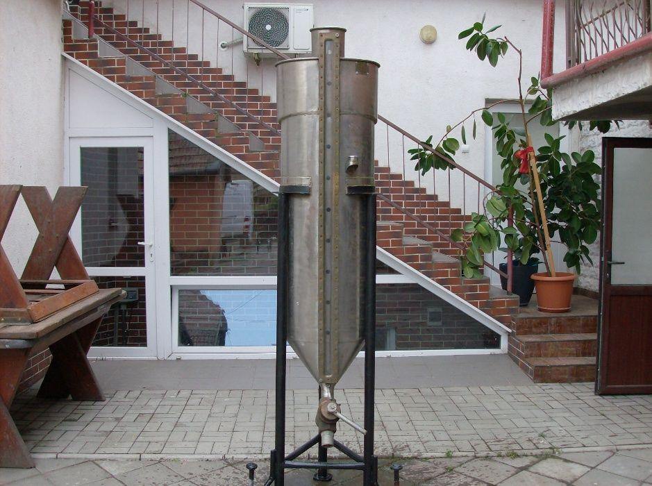 vas etalon 200 litri cu rigla pe generatoare