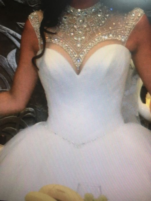 свадебное платье дизайнера Оксаны Муха