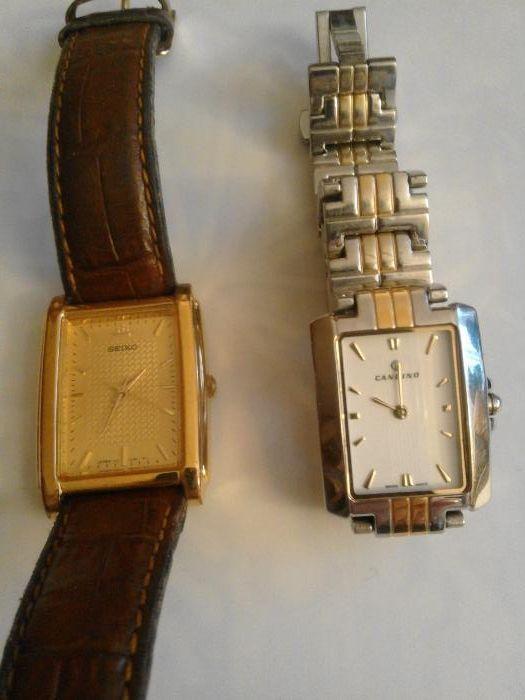 Часовници Сейко и Кандино, оригинални.