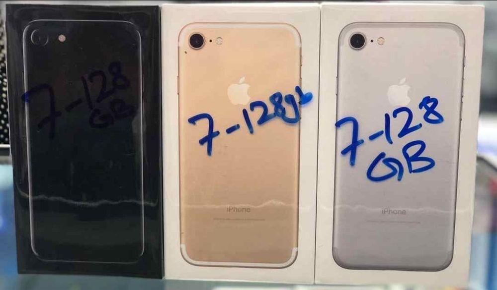 Iphone 7 128GB selados