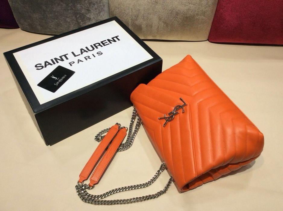 Geanta Saint Laurent/Paris/piele naturală nu ecologică/calitate 100%
