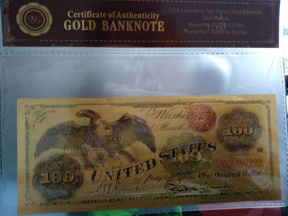 Златна банкнота
