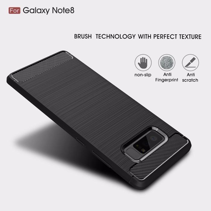 RUGGED ARMOR силиконов кейс мат за Samsung Galaxy Note 8