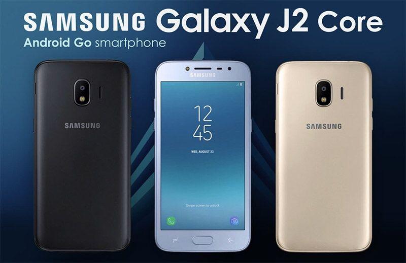 Samsung j2 core na caixa selado