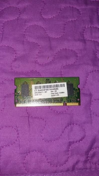 Memorie laptop de 1gb