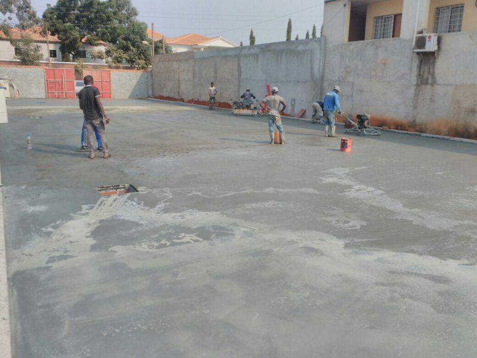 Afagamento de Betão 7 (Pavimento Industrial)