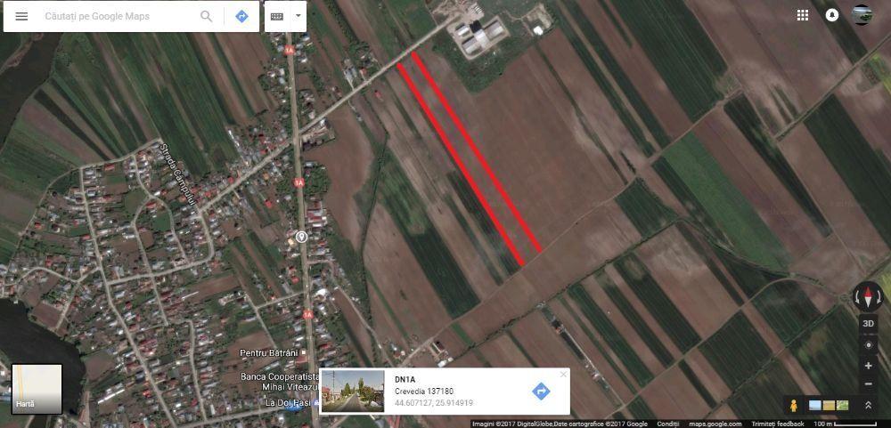 Teren zona industriala - extravilan (2000mp)
