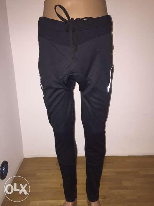 Pantaloni ciclism barbat Pt toamna iarna, grosi marime L
