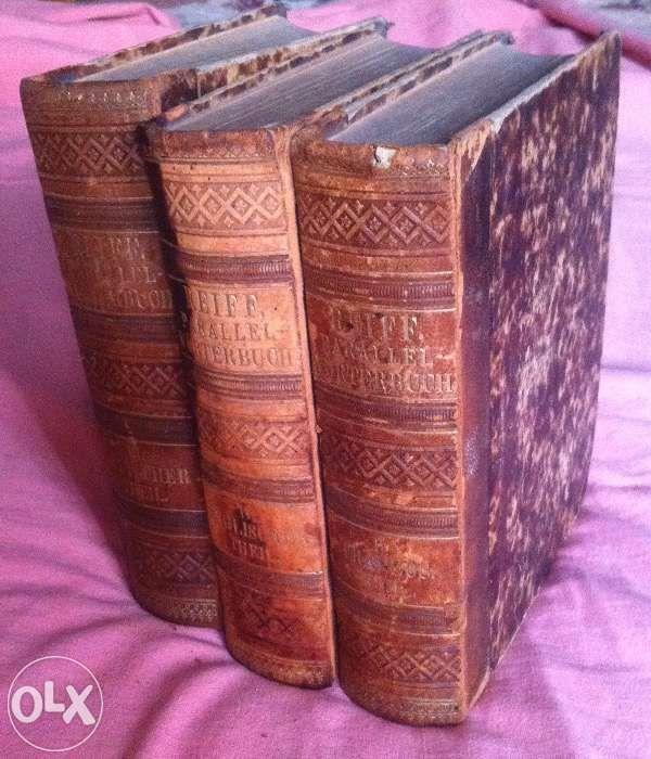 Noul dictionar paralel, exp.colect. ,1875