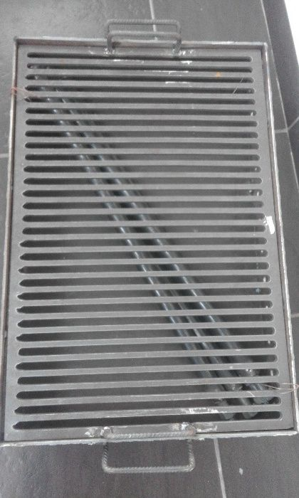 Vand gratar metalic 40x60 cm