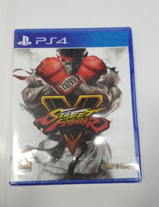 Jogos ps4 street fight selados