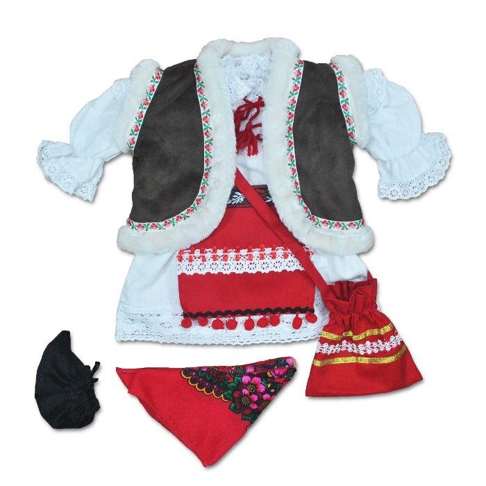Costum popular bebe   traditional fete   national botez   costum copii