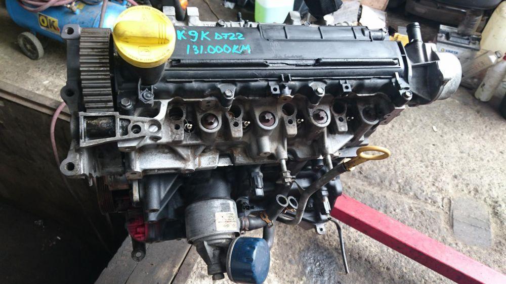 Motor 1.5 dci euro 3 k9kd722 renault megane 2 clio logan