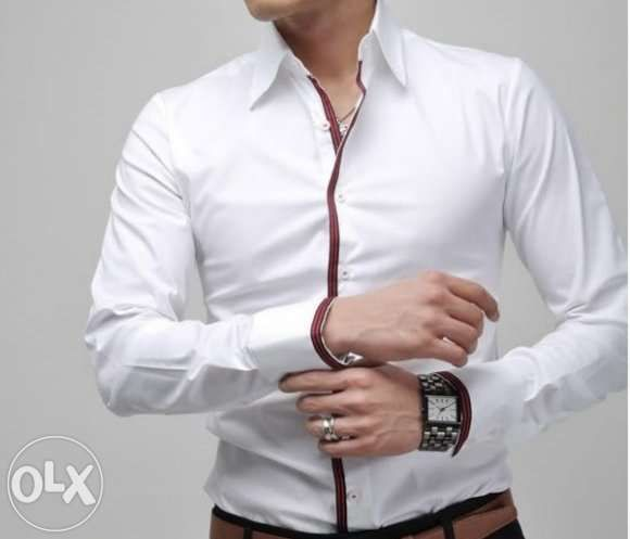 CAMASA BARBATI SLIM FIT Maneca Lunga Model 2015 Cambrata 4 Culori
