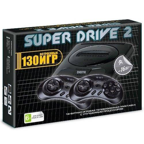 Sega Drive 2 Classic + 130 встроенных игр \ магазин GAMEtop