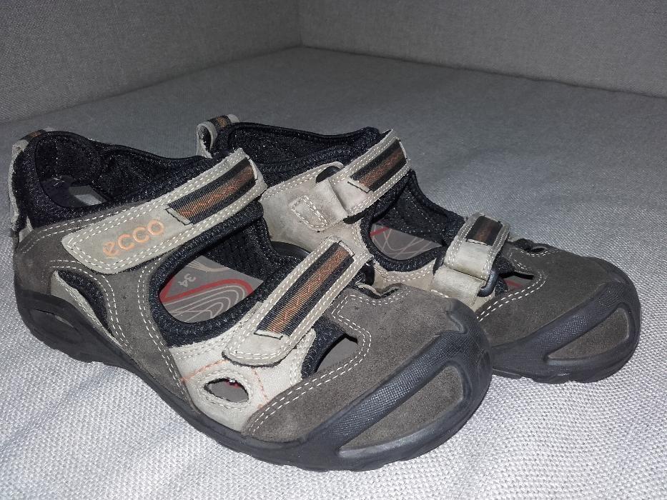 Papuci deschisi/Sandale copii piele ECCO Radar marimea 34