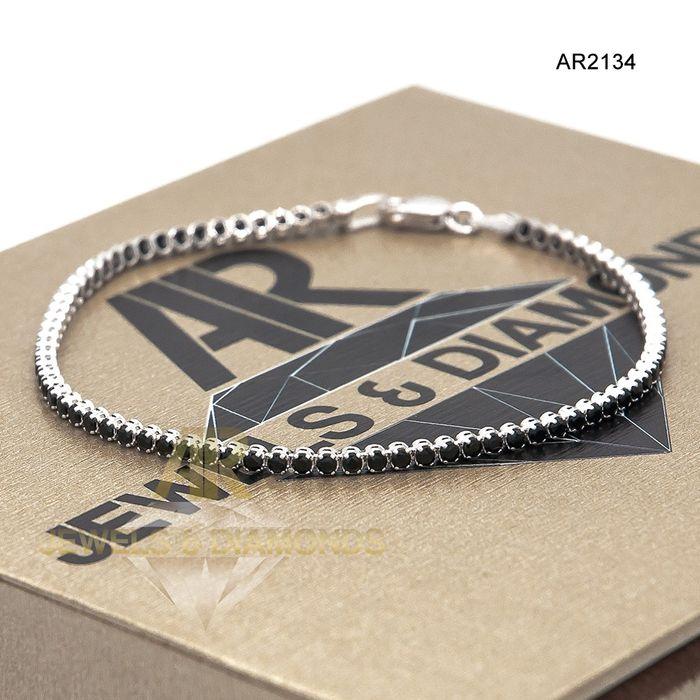 Bratara Tennis Aur 14 K model nou unisex ARJEWELS(AR2134)