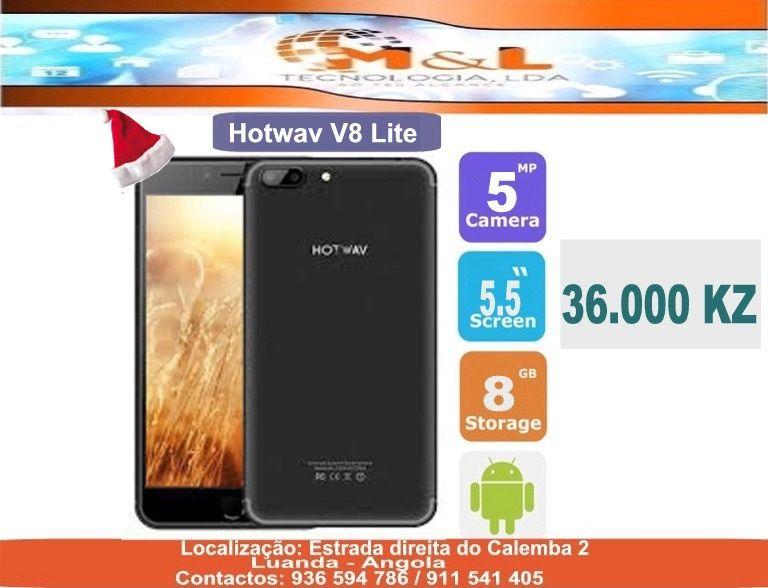 Telemóvel Hotwav V8 Lite Novo original