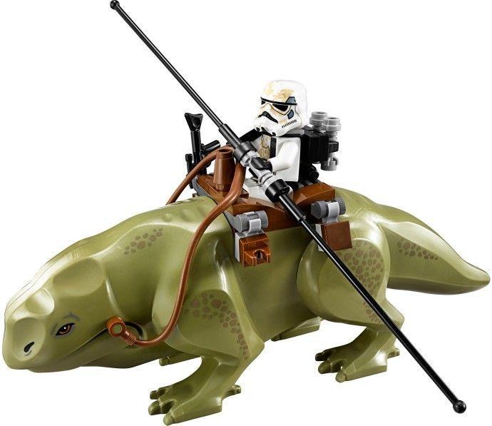 Set cu 2 Minifigurine Dewback si Sandtrooper tip Lego Star Wars