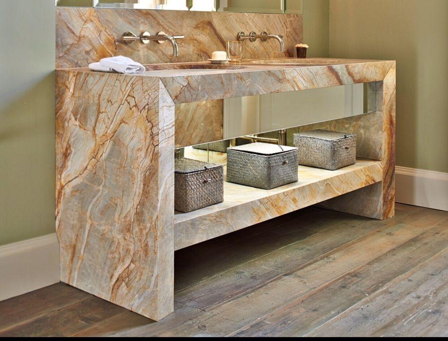 Mobilier blaturi placaje baie din marmura și granit Buzau