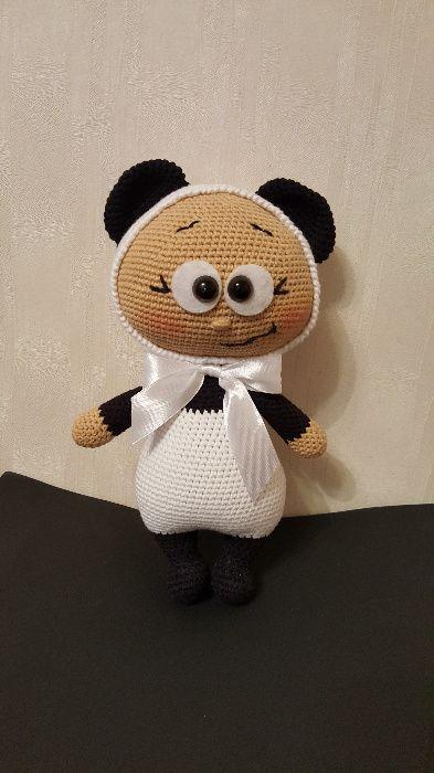 Бонни в костюме панды