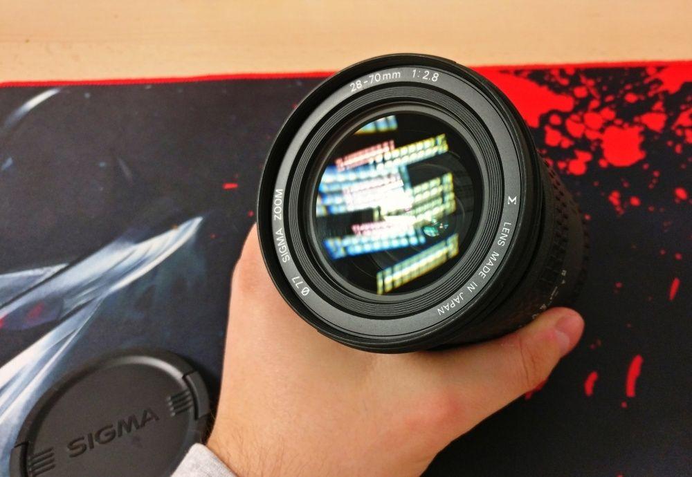 Sigma 28-70 f/2.8 EX, montura Canon