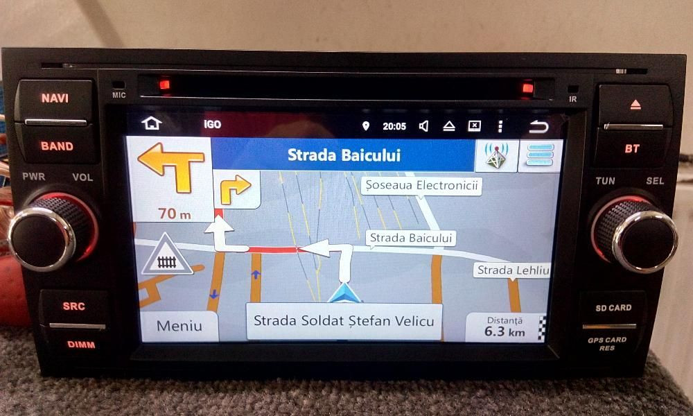 Navigatie Ford Focus, Kuga,Mondeo, ANDROID OCTACORE 32GB