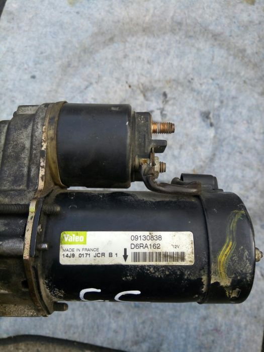 Electromotor VALEO 09130838 D6RA162 opel corsa C 1.2B,16valve Z12XE.