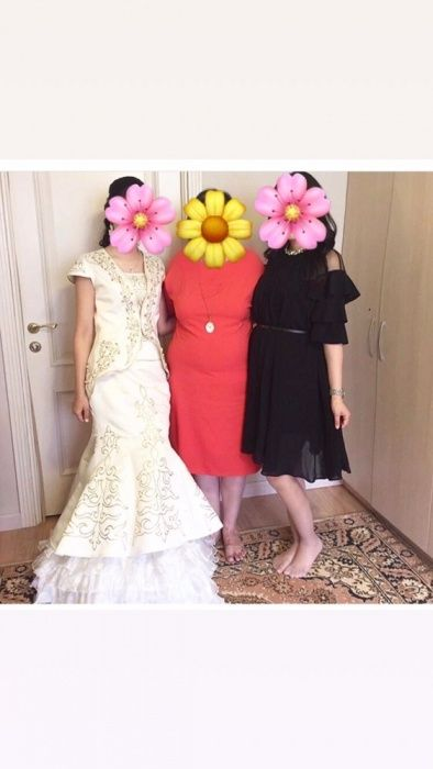Казахские национальные платья на кыз узату.